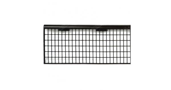 Защитная решетка желоба 125 мм коричневая