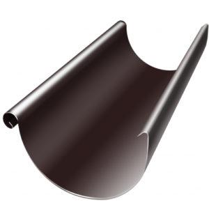 Желоб полукруглый 150 мм 3 м RAL 8017 шоколад