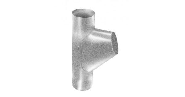 Тройник трубы,90 мм Al-Zn