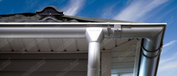 Угол желоба внутренний 135 гр 125 мм Al-Zn