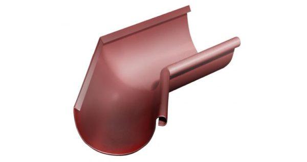 Угол желоба внутренний 135 гр 125 мм RR 29 красный