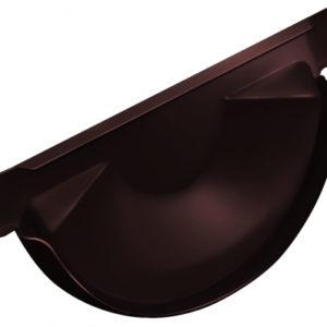 Заглушка торцевая универсальная 150 мм RAL 8017 шоколад