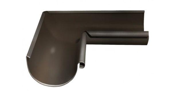 Угол желоба внутренний 90 гр 125 мм RR 32 темно-коричневый