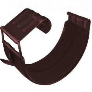 Соединитель желоба GL 150 мм RAL 8017 шоколад