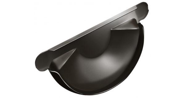 Заглушка торцевая универсальная 150 мм RR 32 темно-коричневый