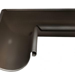 Угол желоба внутренний 90 гр 150 мм RR 32 темно-коричневый