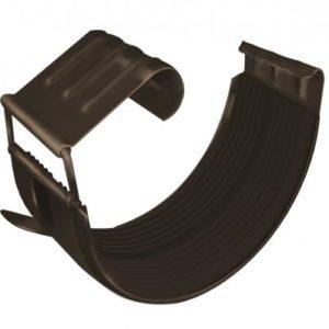 Соединитель желоба GL 150 мм RR 32 темно-коричневый