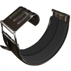 Соединитель желоба GL 125 мм RR 32 темно-коричневый