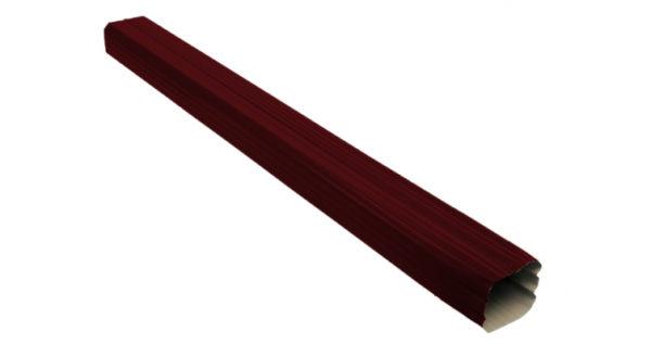 Труба прямоугольная Vortex 1м RAL 3005