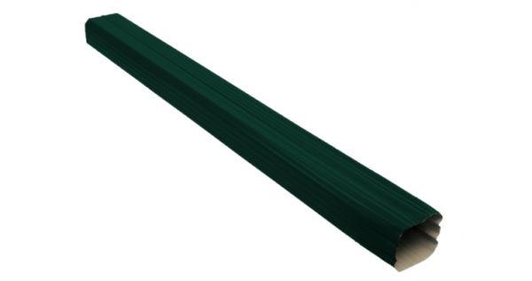 Труба прямоугольная Vortex 1м RAL 6005