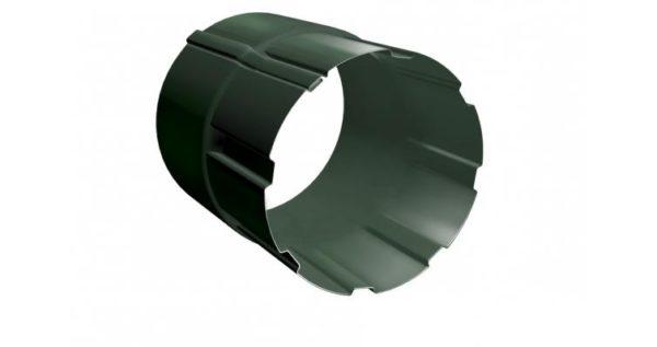 Соединитель трубы 90 мм RR 11 темно-зеленый