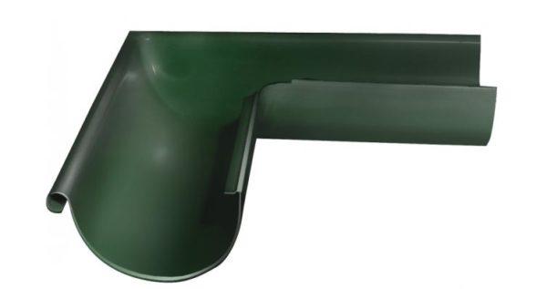 Угол желоба внешний 90 гр 125 мм RR 11 темно-зеленый