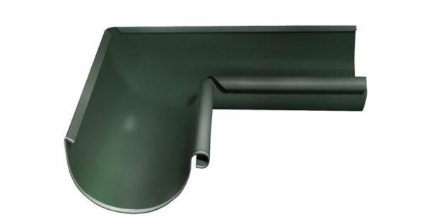 Угол желоба внутренний 90 гр 125 мм RR 11 темно-зеленый