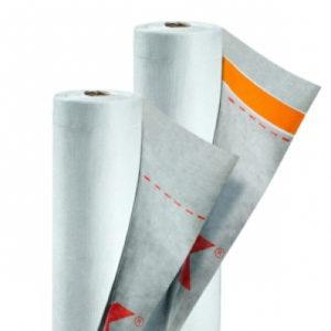 Tyvek диффузионная мембрана с клеевой лентой Supro+Tape