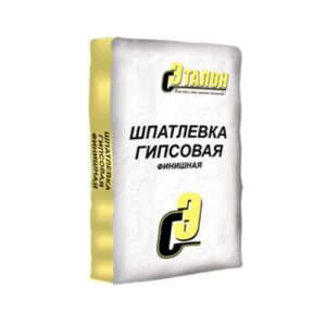 Шпатлевка Эталон гипсовая белая 15 кг. (100шт/п)