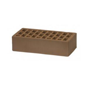 Кирпич Воротынский облицовочный, коричневый, одинарный