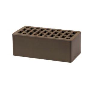 Кирпич Воротынский облицовочный, коричневый, утолщенный