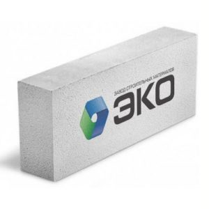 Стеновой газобетонный блок D500 B3,5 600X100X250