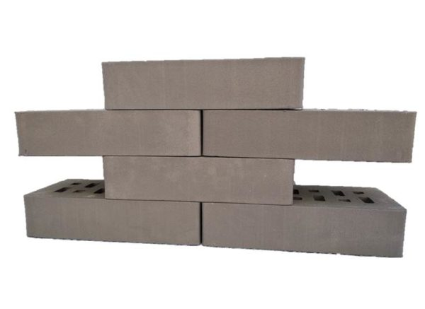 Клинкер фасадный серый (5,0%) б/ф 0,54NF гладкий ЛСР