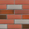 Клинкер фасадный красный флэшинг Ноттингем 0,71NF гладкий ЛСР