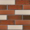 Клинкер фасадный красный флэшинг Ноттингем 0,71NF береста ЛСР
