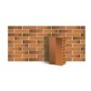 Клинкер фасадный светло-морковный ангобированный тип 1Т 0,48NF