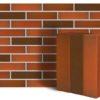 Клинкер фасадный красный флэшинг Ноттингем 0,71NF гладкий
