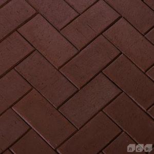 Клинкер тротуарный коричневый Мюнхен 0,51 NF ЛСР