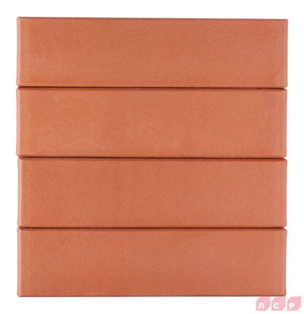 Клинкер фасадный красный Лондон 0,71NF гладкий ЛСР
