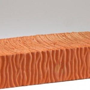 Кирпич полнотелый керамический одинарный красный М200 Воротынский