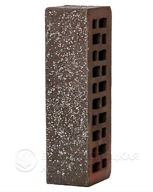 Кирпич с флеш обжигом Графит дуб с песком 0,7NF