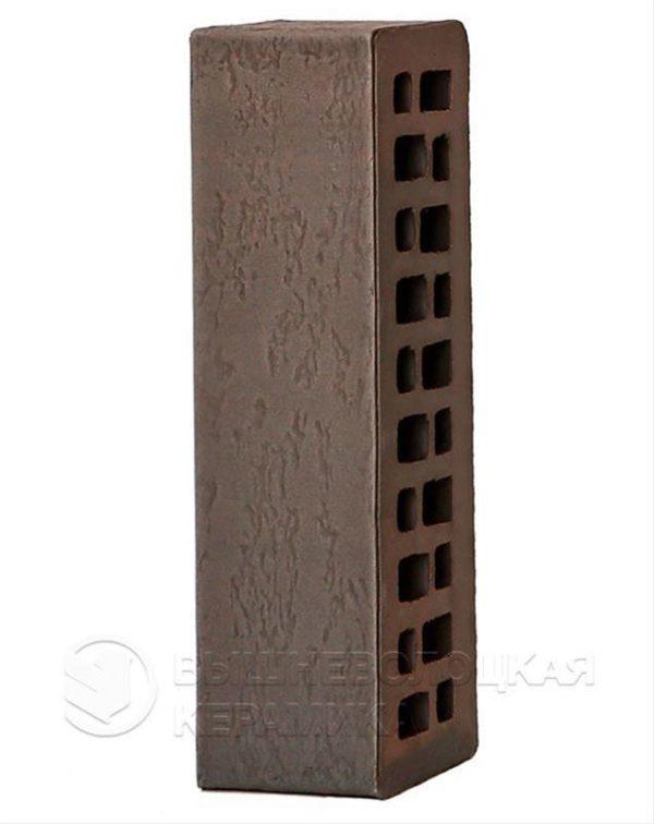 Кирпич с флеш обжигом Графит старая стена 0,7NF ТУ