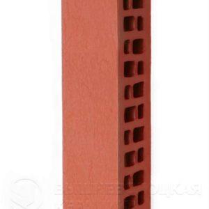 Кирпич лицевой красный старая стена 0,7NF