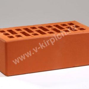 Кирпич лицевой керамический утолщенный красный М150 ГОСТ 530-2012 с утолщенной стенкой