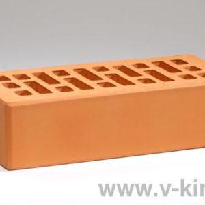 Кирпич лицевой керамический одинарный персиковый М175 Воротынский