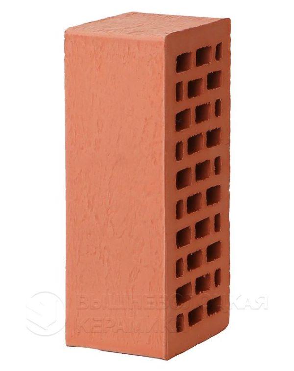 Кирпич лицевой красный старая стена 1,4NF
