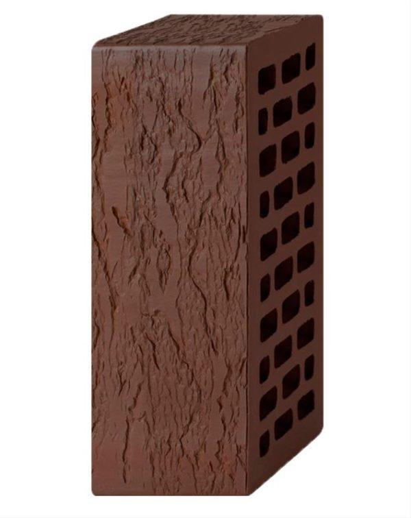 Кирпич лицевой темно-коричневый лава 1,4NF