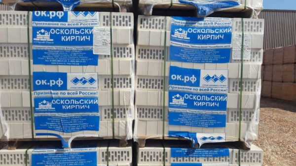 Кирпич белый 1,4НФ ОСМиБТ Старый Оскол 250х120х88