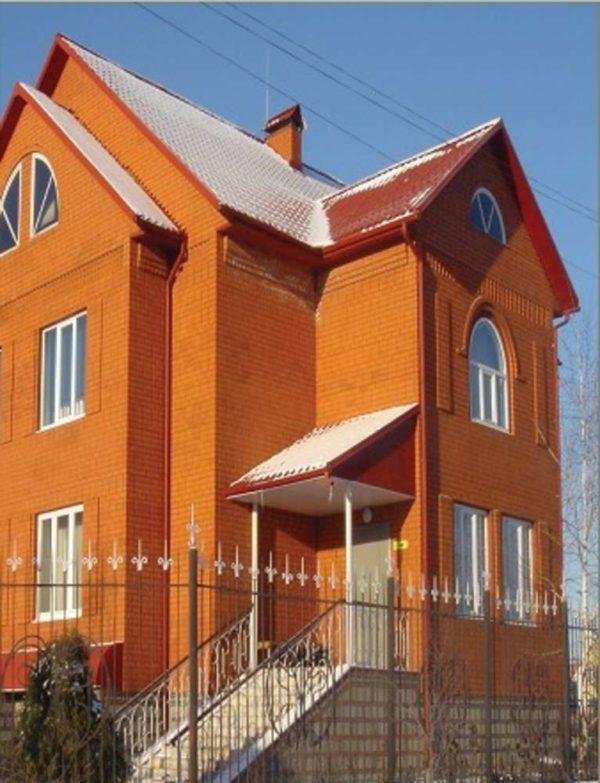 Кирпич красный 0,7НФ Евро ЖКЗ 250х85х65