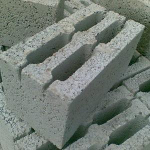 Керамзитоблок стеновой КБС-30 шк 390х190х190