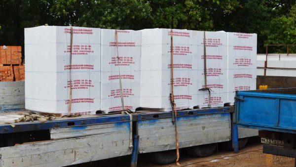 Блоки газосиликатные Wehrhahn Верхан 600x150x288 на поддоне в плёнке