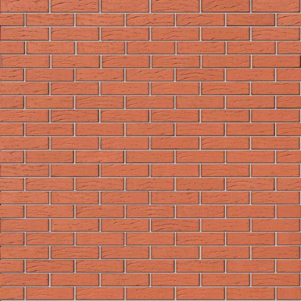 Кирпич Браер красный риф лицевой 0,7NF Евро 250х85х65