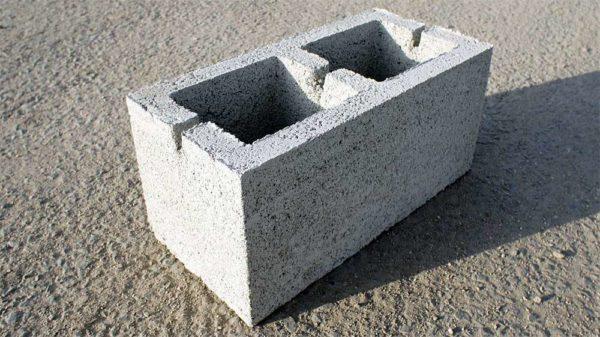 Керамзитоблок стеновой КБС-40 390х190х190