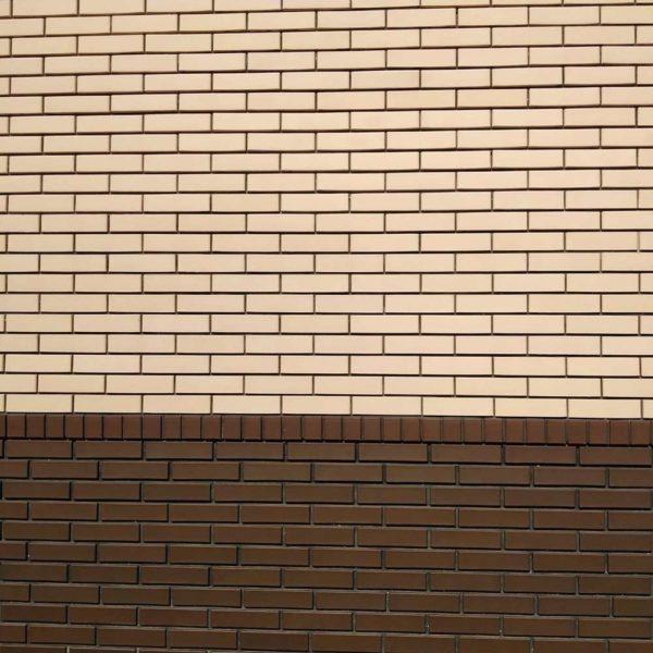 Кирпич тёмно-коричневый 0,5НФ половинка ЖКЗ 250х65х65