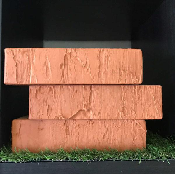 Кирпич красный скала 0,7НФ Евро ЖКЗ 250х85х65