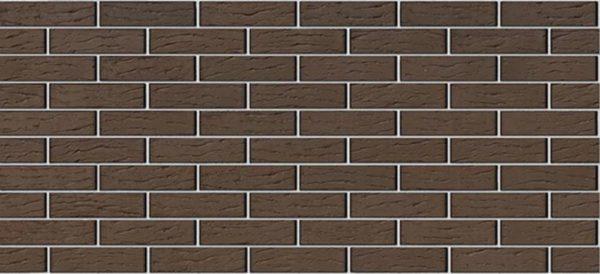 Кирпич Браер коричневый рифлёный 0,7NF Евро 250х85х65