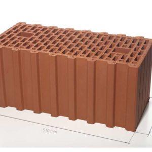 Керамический поризованный блок BRAER 14,3 НФ 510х250х219