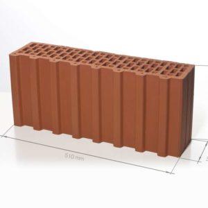 Керамический поризованный блок BRAER 7,1 НФ 510х130х219