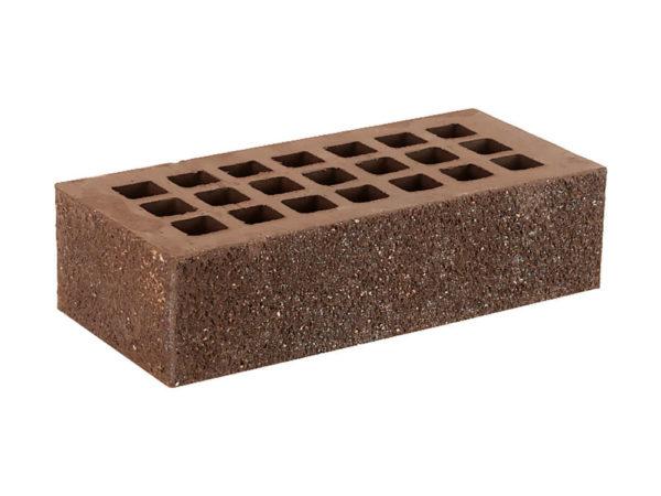 Кирпич тёмно-коричневый торкретированный Пена-Алмаз 1НФ ЖКЗ 250х120х65