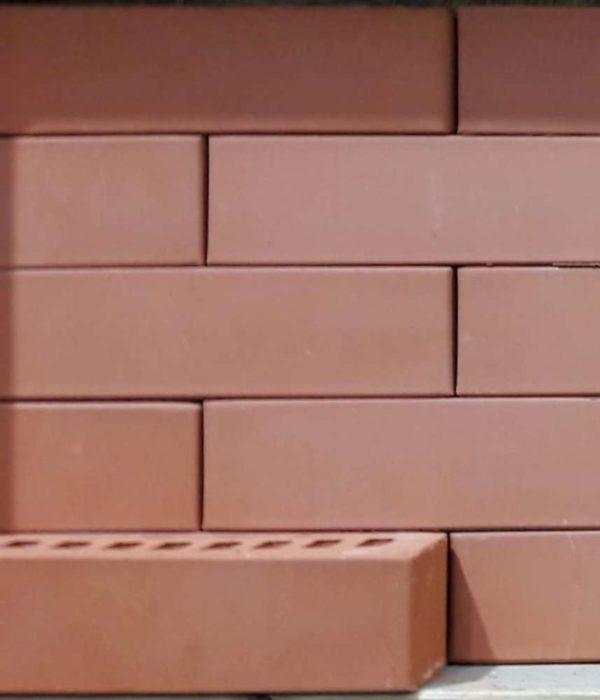Кирпич красный 0,5НФ половинка ЖКЗ 250х65х65